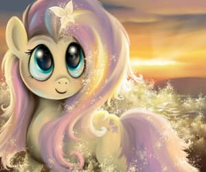 pony, fluttershy, and my little pony image