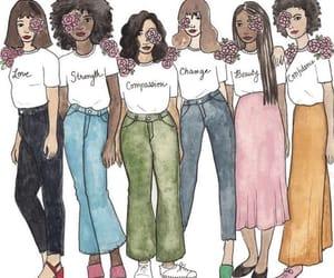 feminism, girls, and women image