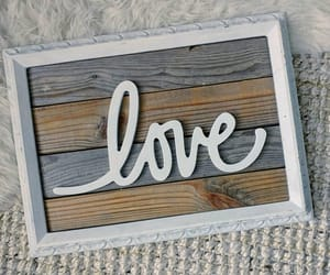 etsy, reclaimed wood sign, and love wood sign image