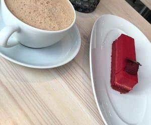 cafe, fika, and cake image