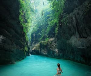 nature, travel, and blue image