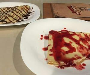 boyfriend, dessert, and strawberry image