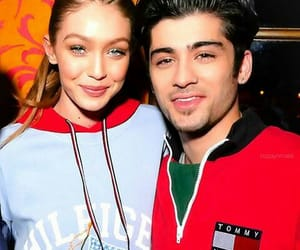 tommy hilfiger and gigi and zayn image
