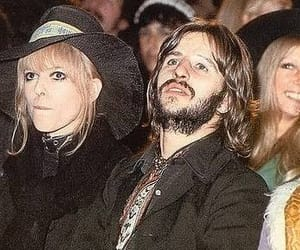 ringostarr, thebeatles, and maureencox image