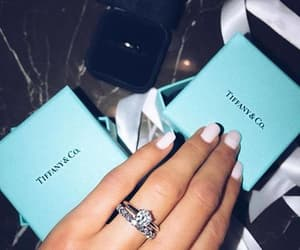 glow, luxury, and rings image