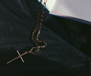 aesthetic, cross, and crucifix image