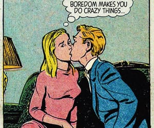quotes, comic, and kiss image