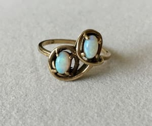 antique, ring, and vintage image
