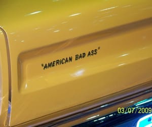 cars, words, and yellow image