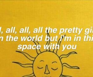 honey, Lyrics, and song image
