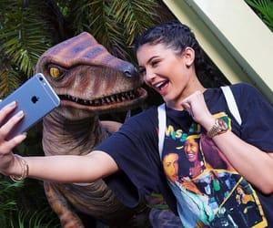 kylie jenner, dinosaur, and jenner image