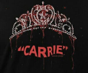 theme, carrie, and dark image