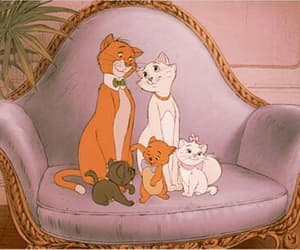 disney, aristocats, and cat image