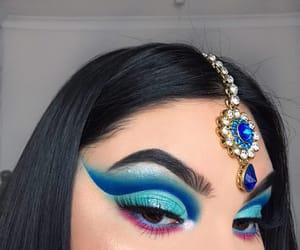 cosmetics, eyebrow, and eyeshadow image