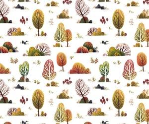 background, orange, and plants image