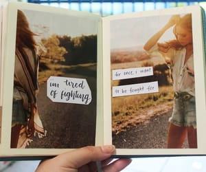 brown, diary, and journal image
