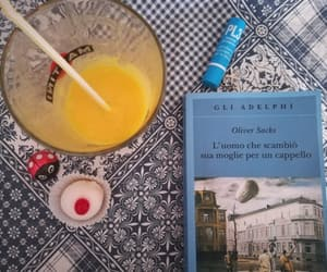 book, breakfast, and smoothie image