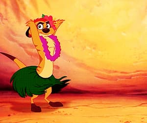 timon, disney, and funny image