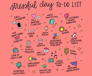 stress and list image
