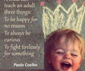 child, happy, and teach image