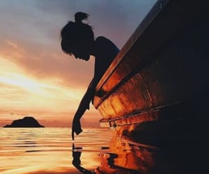 adventure, boat, and girl image