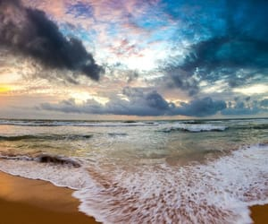 beach, landscape, and belleza image