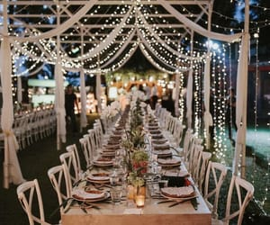 wedding, light, and marriage image