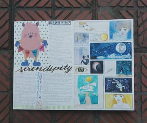 art journal, doodle, and doodles image