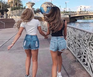 bff, disney, and friendship image