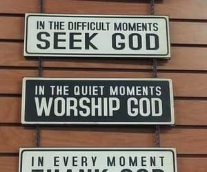 god, jesus, and worship image