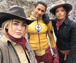 DC, legends of tomorrow, and caity lotz image