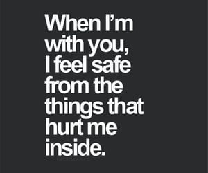 love, safe, and quotes image