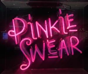 dark pink, girly, and grunge image