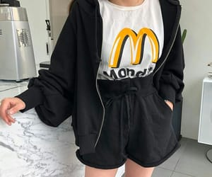 aesthetic, outfit, and black image