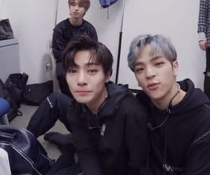 Chan, Minho, and stray kids image