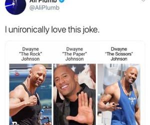 bald, celebrity, and Dwayne Johnson image