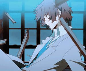 gif and bungou stray dogs image