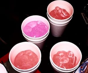red, drink, and ghetto image