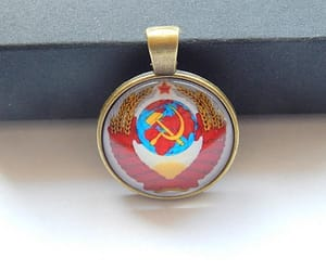 coat of arms, etsy, and lenin image