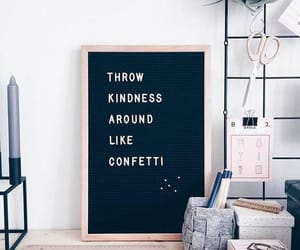 happiness, kindness, and letter board image