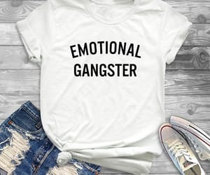 cool tshirt, emotional, and follow image