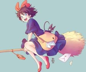 animal, anime, and kiki image