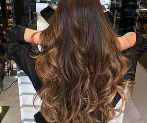 hair, brown, and goals image