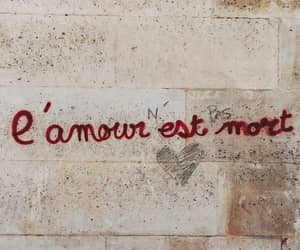 quotes, amour, and wall image