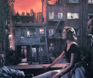 Hitchcock, movie, and rear window image