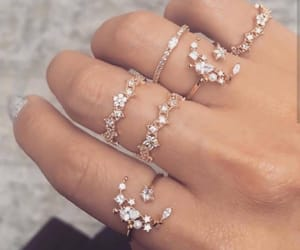 accessories, hand, and rosegold image