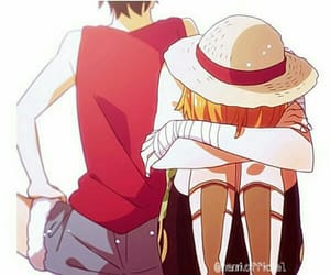one piece, luffy, and ñami image