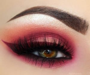 beauty, cosmetics, and eyeliner image