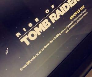 game, raider, and mood image