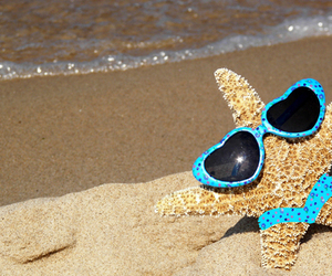star and beach image